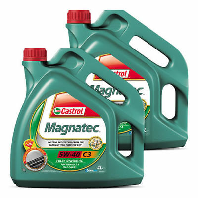 Castrol Magnatec 5W40 C3 Fully Synthetic Engine Oil 1L / 4L / 5 Litre