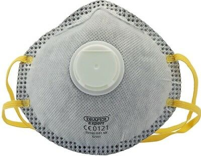 Draper Ffp1 Nr Masks With Charcoal Activated Filter For Painting And Decorating
