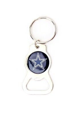 Dallas Cowboys Metal Keychain Bottle Opener NFL Football Licensed Product