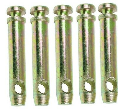 """5 Cat 1 Top Link Pins 3"""" pin dia, 2 3/4"""" useable length, 4 5/8"""" overall length"""