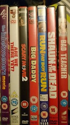 7 great comedy dvds bundle