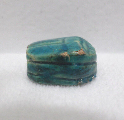 Egyptian Scarab Turquoise color