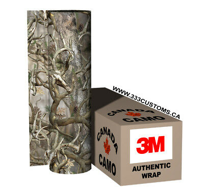 3M WRAP 20 FT CAMO ROLL TRUCK JEEP BOAT ATV HUNTING REAL BUCK TREE SNOW C2M-3M