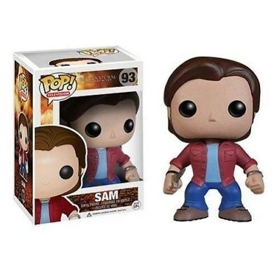 Funko - Supernatural Sam Winchester Pop! Vinyl Action Figure #93 New In Box