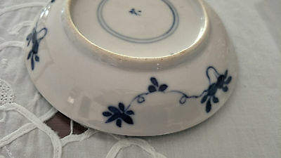 Genuine+ Quality   Chinese Antique Blue & White Plate Porcelain 18TH C