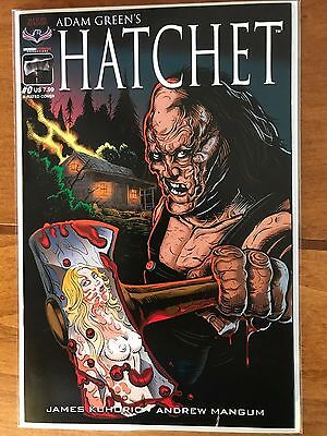 Hatchet #0 Nude Variant Cover 1st print VF+