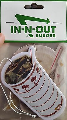 In n Out Burger air fresheners