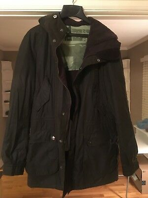 Barbour Steve McQueen Jacket, Waxed Sz Large