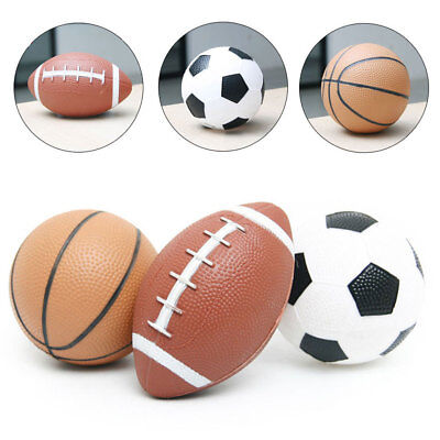 14.5cm/17.5cm Mini Rubber Basketball Kids Child Toy Toddler Exercise Ball Play