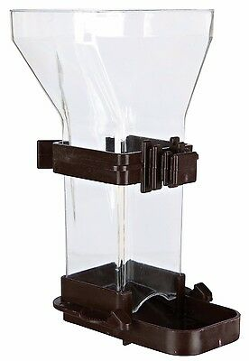 5418 Trixie EASY REFILL WIDE Small Bird - FOOD Cage Feeder Dispenser 1, 3 or 6