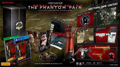 Metal Gear Solid V: The Phantom Pain collectors edition PS4 Aus NEW & SEALED