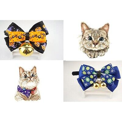 Halloween Tie Butterfly Pet Dog Puppy Cat Tie Collar Comb Accessory Supply