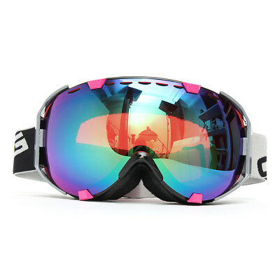 Unisex Anti-fog UV Double Lens Outdoor Snowboard Ski Goggle Protective Glasses
