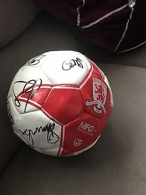 Signed Middlesbrough Football