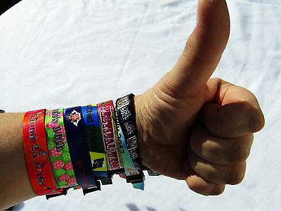 3 x Tester  Wristband Sample Wedfest, Events, Wedding ,Birthday,Party