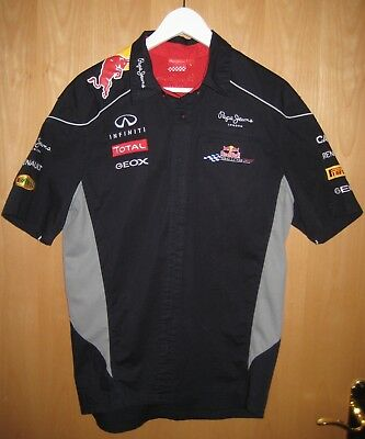 Red Bull Racing Official Teamline F1 Hemd Gr. L Pepe Jeans London