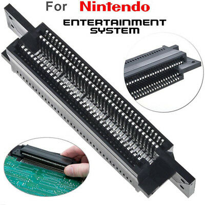 72 Pin Connector Replacement Cartridge Slot For Nintendo NES US