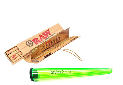 Raw Classic Masterpiece King Size Slim Pre Rolled Tips Assorted Cigarette Holder