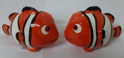 Clown Fish design Salt & Pepper Shakers Collectable Novelty  - NEW - Freepost