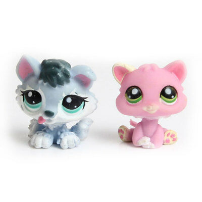Littlest Pet Shop Cute Animals Puppy Action Figures Display Kids Color Random