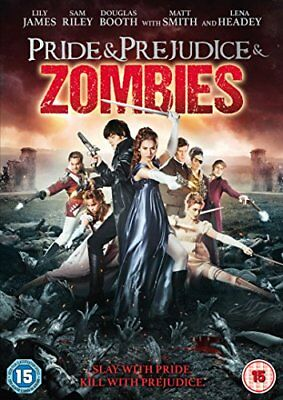 Pride and Prejudice and Zombies [DVD] [2016][Region 2]