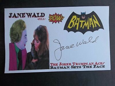"""Batman"" Jane Wald ""Jill"" Autographed 3x5 Index Card"