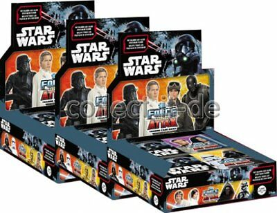 TOPPS - Star Wars - Force Attax - Universe - 3 Display (72 Booster) - Deutsch