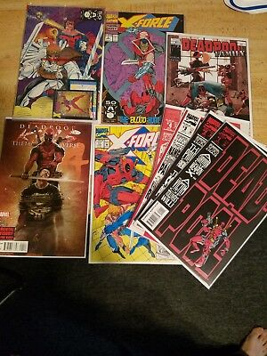 Deadpool The Circle Chase Lot NM NM+