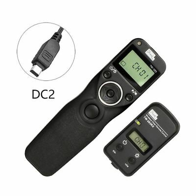 Pixel TW-283/DC2 LCD Wireless Timer Shutter Release Remote Control for Nikon DC2
