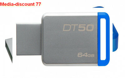 Kingston DataTraveler 50 - DT50 clé USB 3.0 64 Go