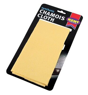 KENT Synthetic Chamois Leather - 2 Square Foot - On Card