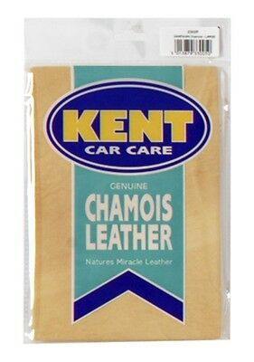 KENT Best Quality Chamois Leather - 3 Square Foot - Bagged