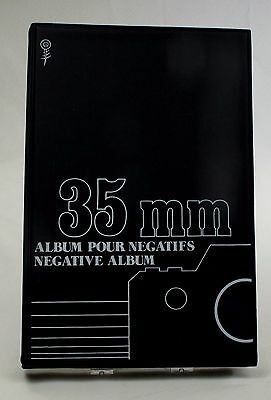 35 mm Camera Negative Storage Album Organizer Book 155 Total Clear Sleeve Slots