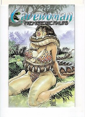 Cavewoman Prehistoric Pinups Book Three Special Edition Limited To 750
