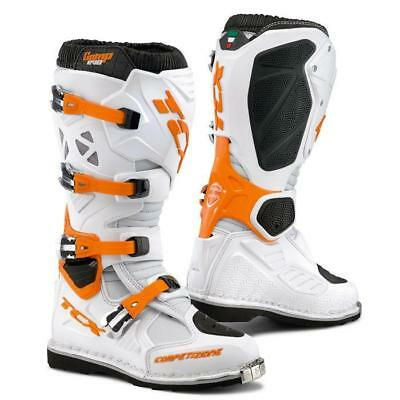 Stivali TCX COMP EVO white / orange