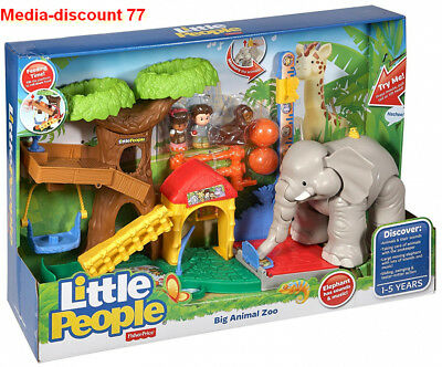 Fisher Price-little People - CHF55 - Figurine Animation - Zoo Des Animaux Géants