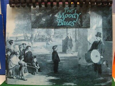 """Record Album Notebook Moody Blues """"Long Distance Voyager"""" May 1981"""