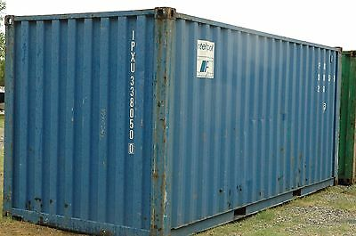 20' Standard Shipping Container Located in Tomball, TX