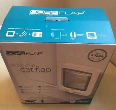 sureflap microchip cat flap brown RRP £109.99 BNIB