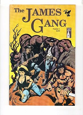 James Gang #1 Early Budd Root! Cavewoman (Is Not In This Book) Signed!