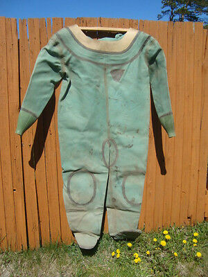 Diving suit for russian 12-bolt diving helmet ( NOT USED)