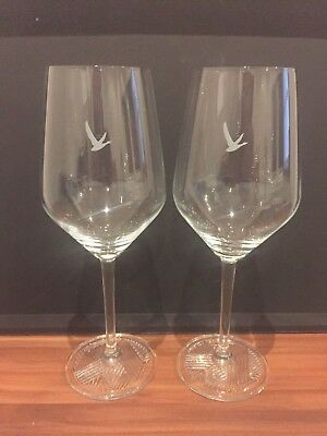 Grey Goose Vodka LeGrand Fizz 47cl Embossed Foot Oversized Cabernet Wine Glasses