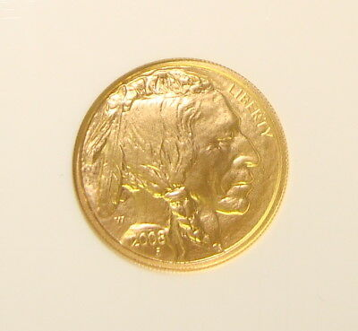 2008-W $5 1/10 oz Gold Buffalo NGC MS69 Early Releases