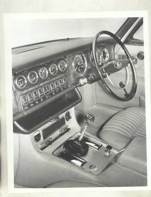1969 Jaguar XJ6 RHD Interior ORIGINAL Factory Photograph wy5138