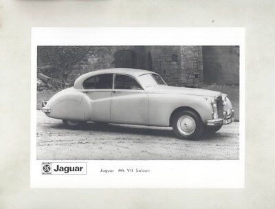1954 1955 ? Jaguar Mark VII Saloon ORIGINAL Factory Photograph wy5141