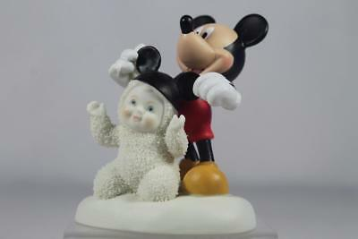 Dept 56 Snowbabies / Disney 'I'm All Ears' Mickey Mouse #4039691 New In Box