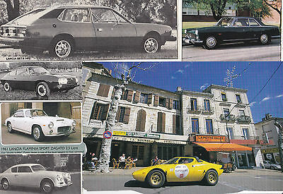 66 LOT LANCIA Cars, Historic & Vintage Magazine Clips from over the Years!!
