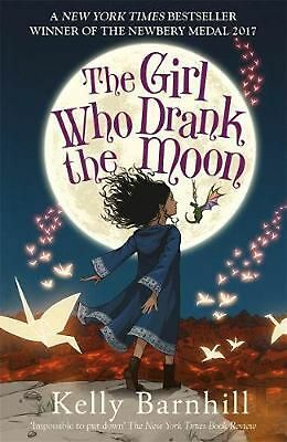 The Girl Who Drank the Moon by Kelly Barnhill Paperback Book