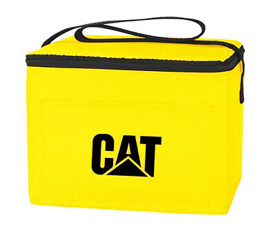 Caterpillar CAT Equipment Black & Yellow Shoulder Carry Cooler Bag