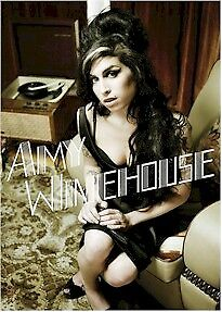 AMY WINEHOUSE ~ RECORD PLAYER ~ 24x36 Music Poster ~ NEW/ROLLED!